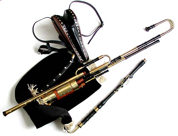 how to make uilleann pipes